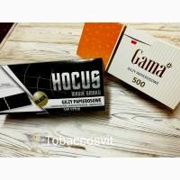 Гильзы для сигарет HOCUS Black+ GAMA
