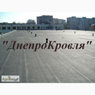 Ремонт мягкой кровли еврорубероидом в Петриковке