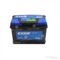 Аккумулятор EXIDE EXCELL 62Ah-12v EB621(242х175х190) | L, EN540 (Европа)