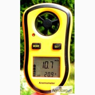 Цифровой анемометр GM8908 (TAM817) ( 0-30м/с) (цена деления - 0, 1 м/с)