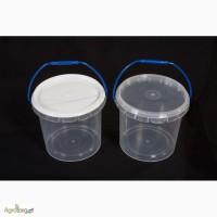 Ведро для меда пластиковое 1 л