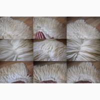 Волосы кукольные натуральные, Кукольные парики, Шкура овечья, Овчина натуральная