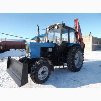 Продам екскаватор-бульдозер на базе трактора МТЗ-82. 1.Гарантия год.Доставка по Украине