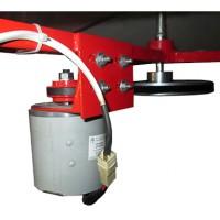 Медогонка 4-х рамочная с автоматическим поворотом кассет под рамку Дадан (АВВ-100)
