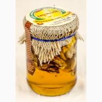 Мед с грецким орехом, 320 грамм