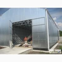 Ангар оцинкованный 12, 0х10, 0 высота 5, 0 (м) Цена: 162 000 грн