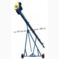 Шнековый транспортер, погрузчик «GETMAN - 8.0m», 25т/ч, d=159мм, 3кВт/380V, подъем 4, 50м