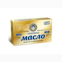 Масло сладкосливочное крестьянскоеЗолотава 73, 0% пачка 200 гр