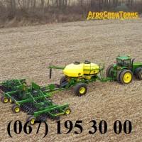 Услуги для сельского хозяйства: посевные работы зерновых и масличных культур