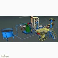 Миникомплекс утилизации отходов сои в удобрения