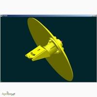 Диск маркера СШЕ 04.120, сеялки УПС, СЗ-5.4