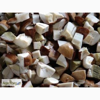 Белый гриб кубик 1 и 2 сорт