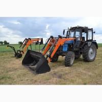 Погрузчик тракторный быстросъемный НТ-4М комплектация ковшом 0, 8 куба