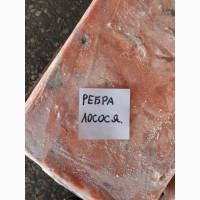 Ребра лосося, замороженные