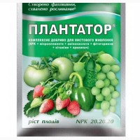 Плантатор 20.20.20, рост плодов