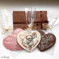 Шоколадные пригласительные и презенты на День рождение