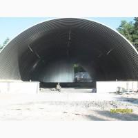 Строительство бескаркасных ангаров по Украине