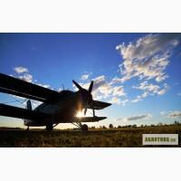 Авіація для внесення міндобрив - агро послуги