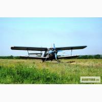Самолет Ан-2 для защиты кукурузы и подсолнечника от вредителей