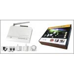 GSM сигнализация беспроводная для дома дачи магазина bse-950 комплект 65 у.е