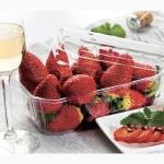 Пластиковый контейнер и лоток для ягод 0, 25, 0, 5 кг