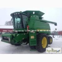 Комбайн зерновой клавишный JD 9550 из США