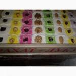Халва. рахат-лукум, пахлава, шоколадные конфеты