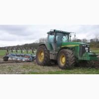 Услуги по обработке земли: вспашка(пахота) дискование культивация и др