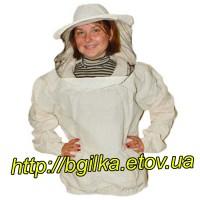 Куртка пчеловода Евро Бязь суровая