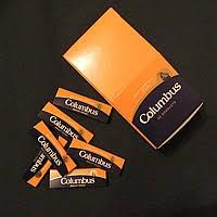 Бумага для самокруток с склеивающей полосой Columbus (Испания) 50 листов в пачке