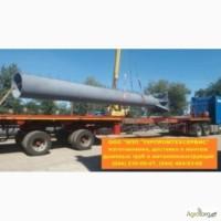 Монтаж дымовой трубы высотой 46 метров, диаметром 1220 мм