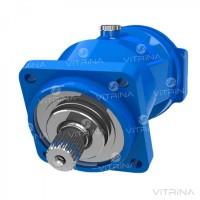 Гидромотор аксиально-поршневой 410.112.А-06.02 | шлицевой вал d=45, реверс