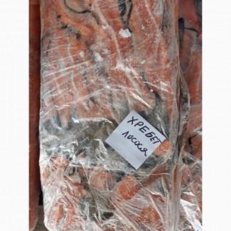 Хребты лосося, замороженные блоки
