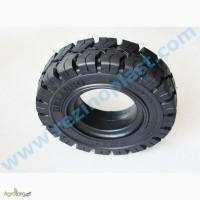 Шины цельнолитые гусматик высокой прочности для вилочных погрузчиков (шины премиум класса)