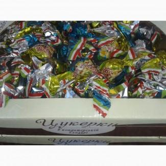 Шоколадные конфеты с натуральными фруктами.22 вида