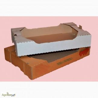 Ящик под клубнику (гофрокартон)