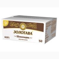 Спред c какао и сахаром Золотава Шоколадная 62, 0% брикет 5 кг