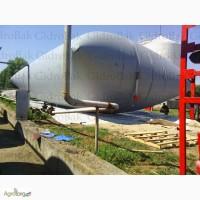 Мягкий газгольдер для биогаза 100м3