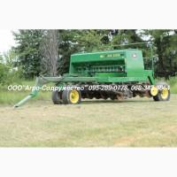 Сеялка зерновая механическая John Deere 750 из США