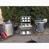 Линия переработки молока от 50 до 20000 литров