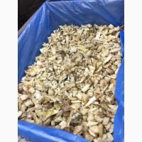 Замороженный белый гриб, 3 сорт, индустриальный