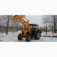 Новый фронтальный погрузчик Амкодор-134 на базе трактора Беларус-92П