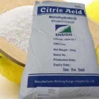 Кислота лимонная пищевая мешки 25 кг