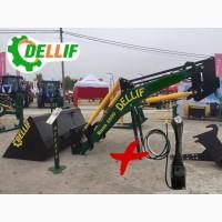 Погрузчик кун фронтальный Dellif Base 1600 с джойстиком на трактор МТЗ, ЮМЗ, Т40
