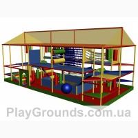 Детские игровые лабиринты для улицы
