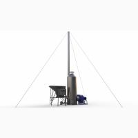 Теплогенератор для зерносушарок на біопалеві. Без СО