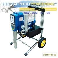 Окрасочные агрегаты аппарат Airless DP-6880 для огнезащитных и гидроизоляционных красок