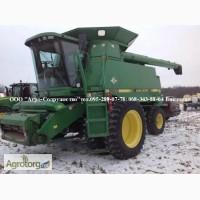 Комбайн зерновой клавишный John Deere 9600 б/у из США