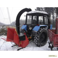 Навесная на трактор дробилка дерева