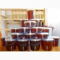 Продам мед з гречки і різнотравя. з доставкою в Львів від 1л/100грн